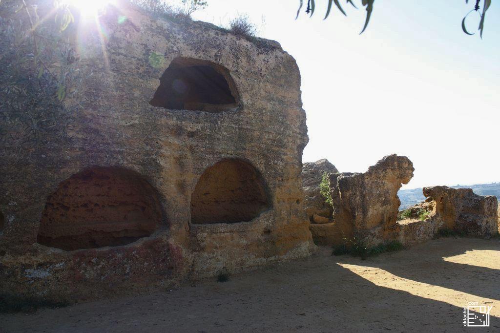 أغريجنتو ـ وادي المعابد ـ المقبرة الرومانية