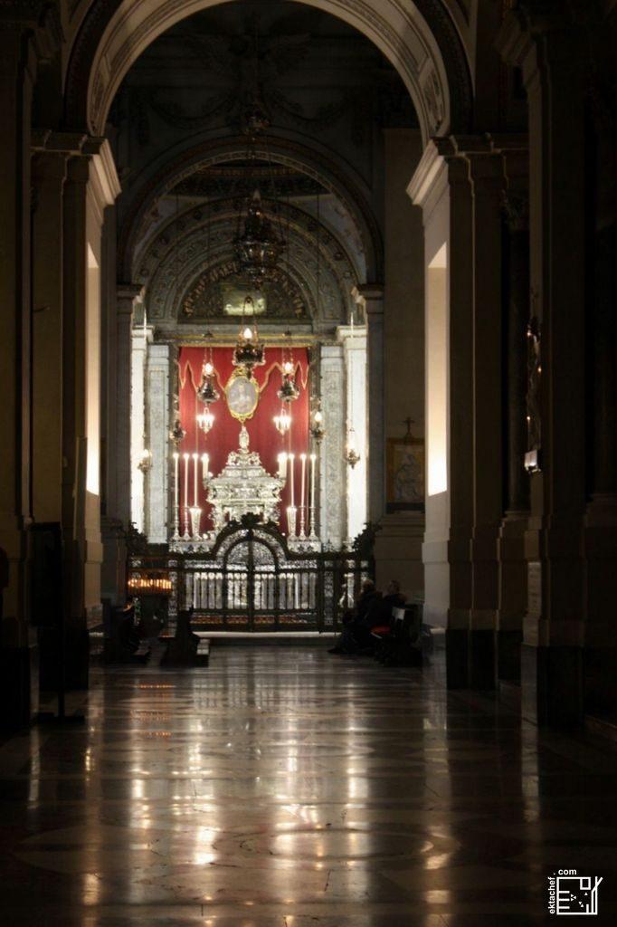 باليرمو ـ من داخل الكاتدرائية