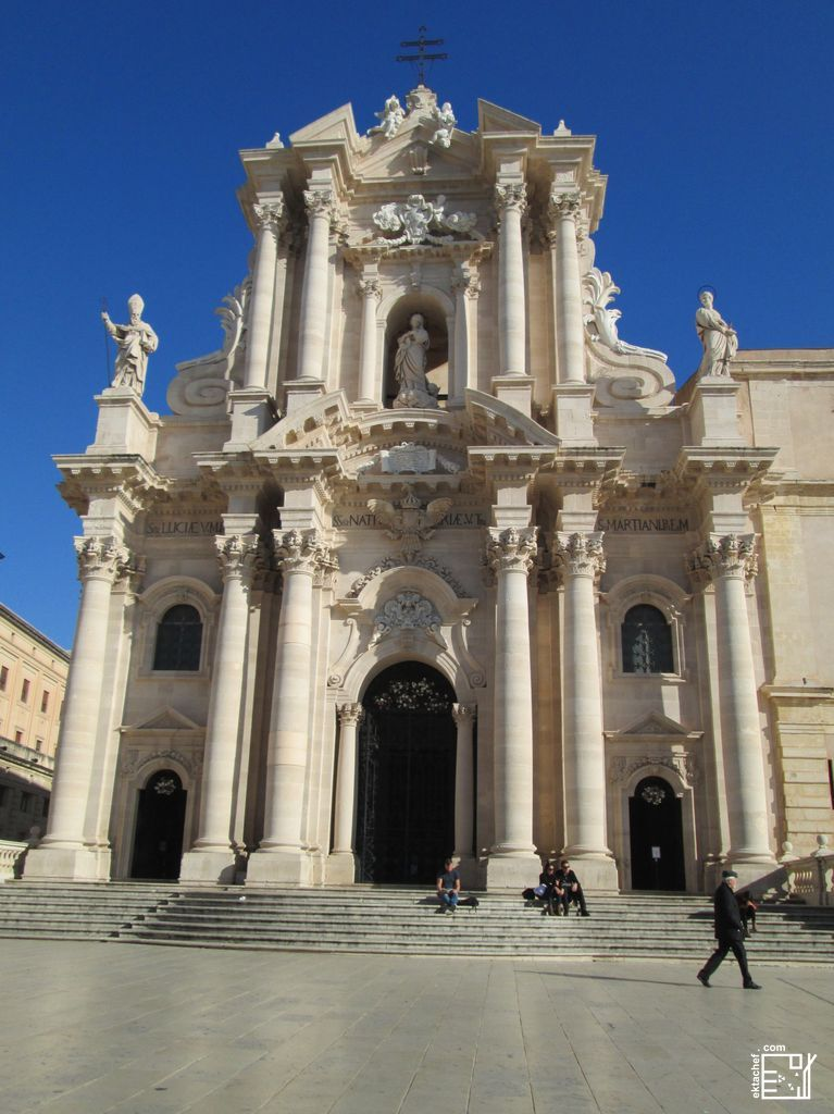 Sicily - Cathedral of Syracuse