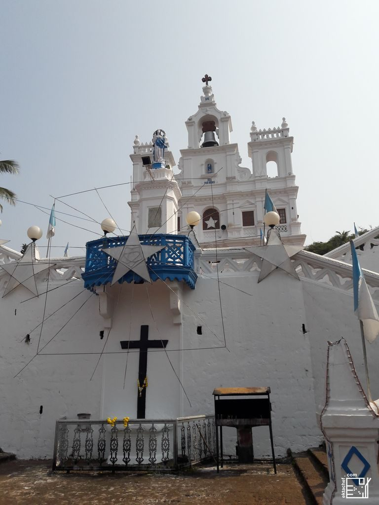India Goa - Our Lady of Immaculate conception church غوا