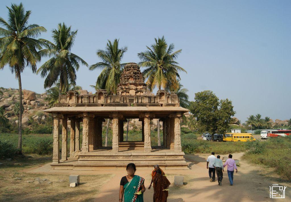 India - Hampi - Gejjala Mantapa