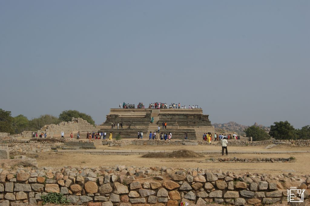 India - Hampi - Royal Enclosure -Mahanavami Dibba