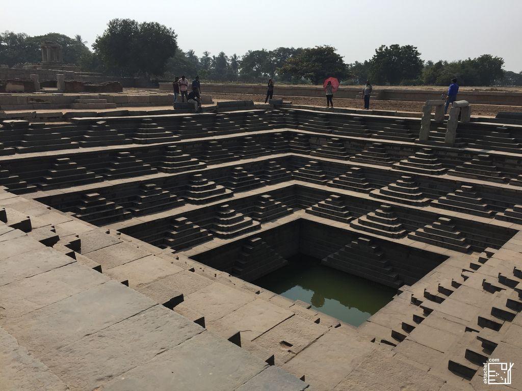 India - Hampi - Royal Enclosure - Sacred Water Tank