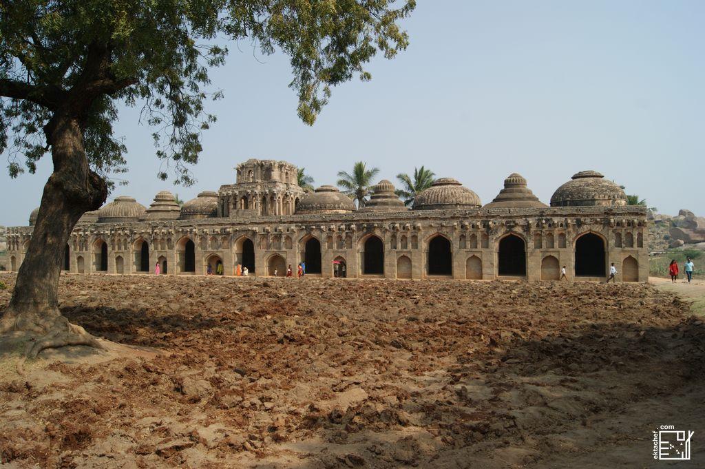 India - Hampi - Zenana Enclosure - Elephant Stable