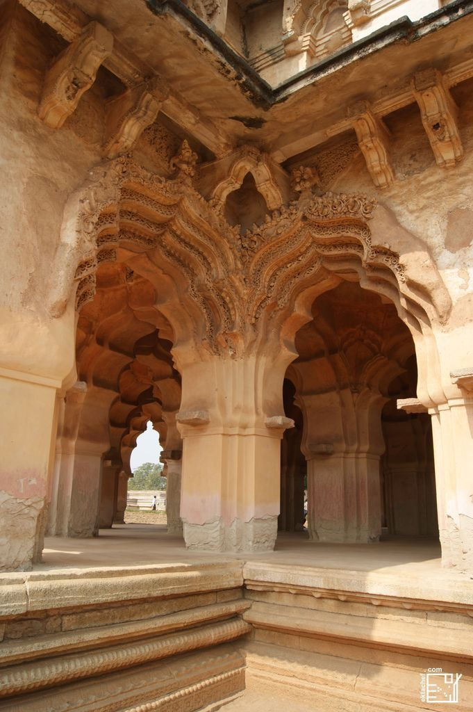 India - Hampi - Zenana Enclosure - Lotus Mahal