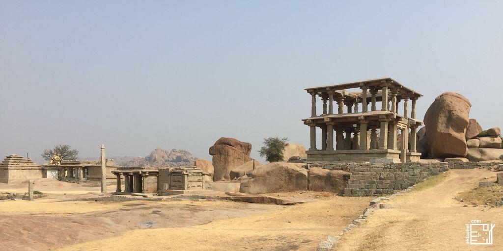 India Hampi Hemakuta Hill