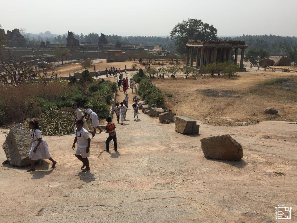 India - Hampi - Kadlekalu Ganesha Temple