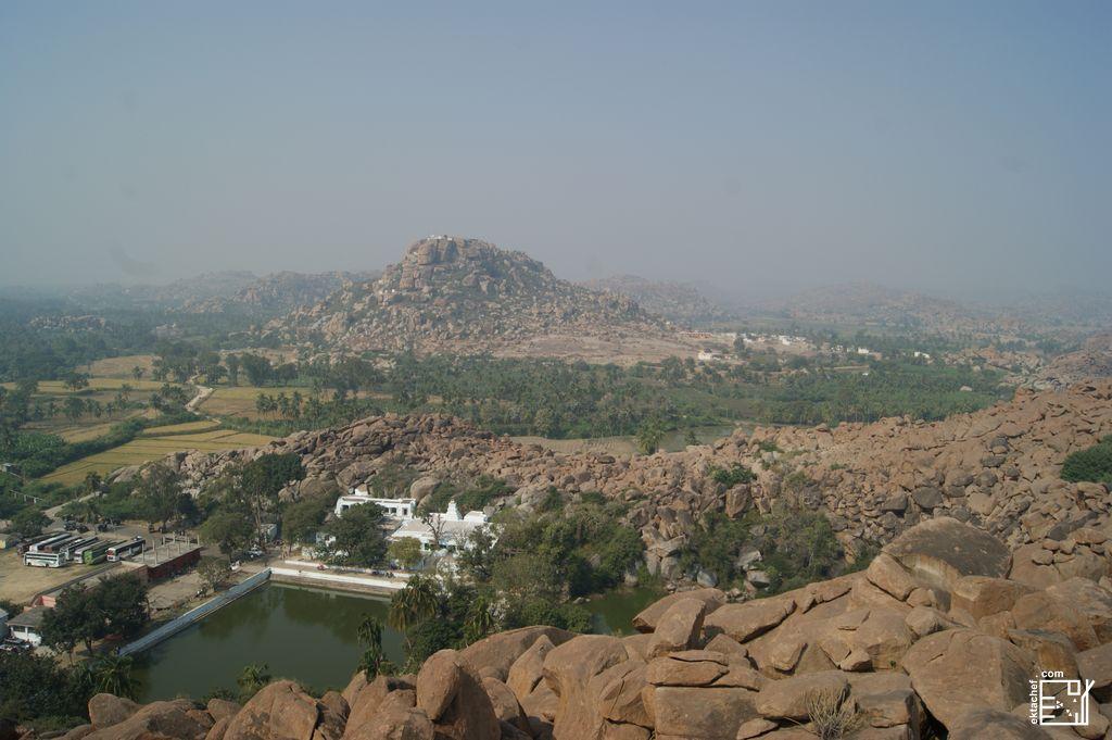 India Hampi Anegundi Hill