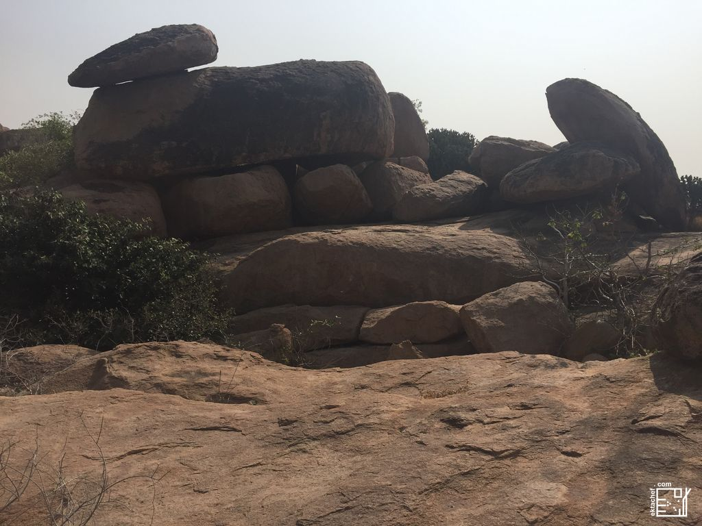 India Hampi - Anegundi Hill