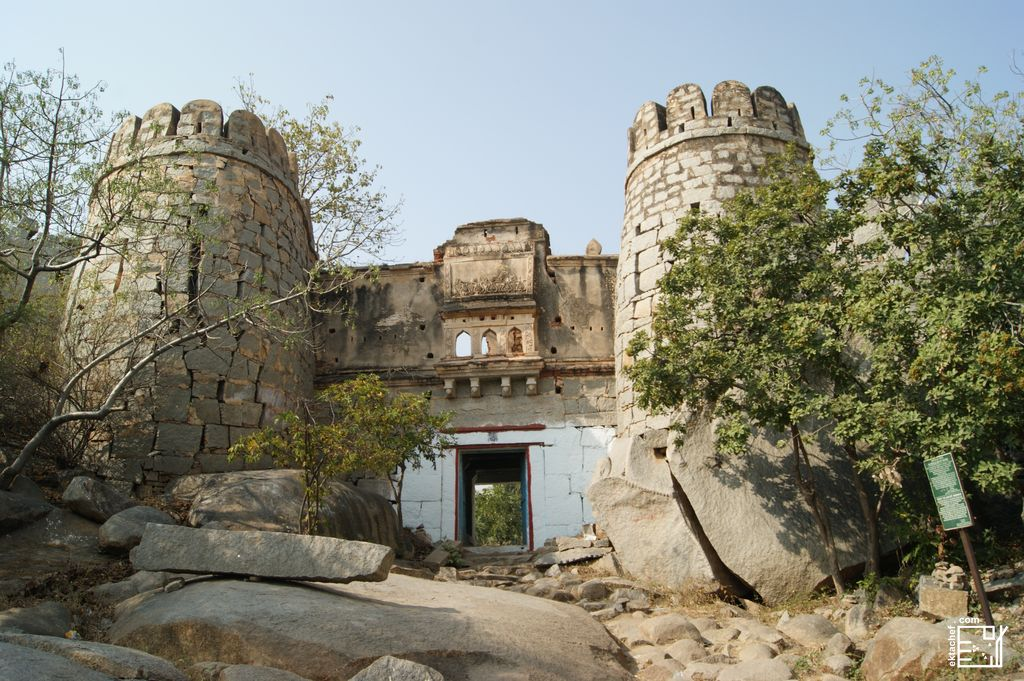 India Hampi Anegundi Fort