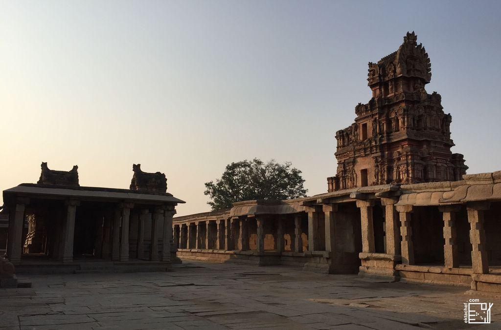 India Hampi Krishna Temple