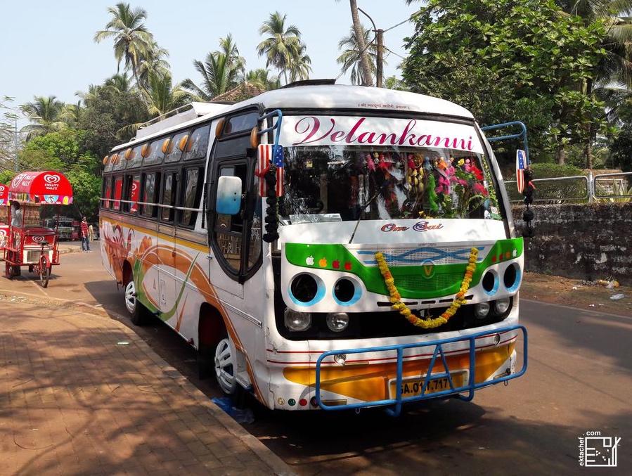 India Transportation Bus