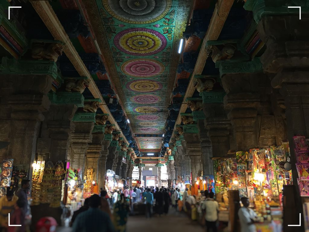 India Madurai Meenakshi temple