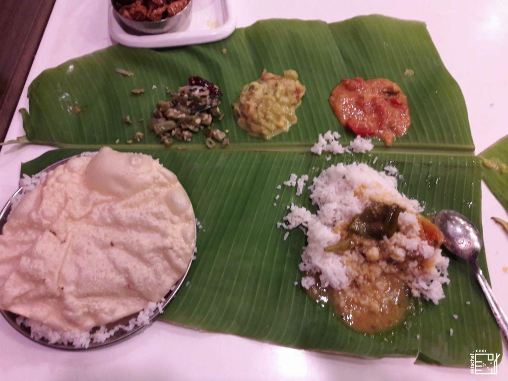 Indian kerala food - Sadhya
