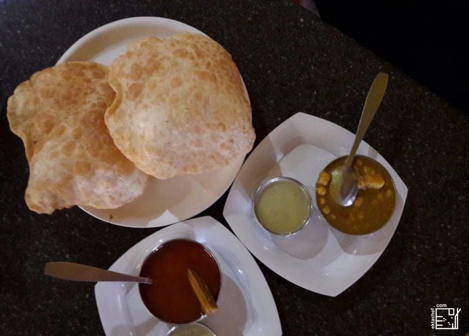 Indian food - Puri